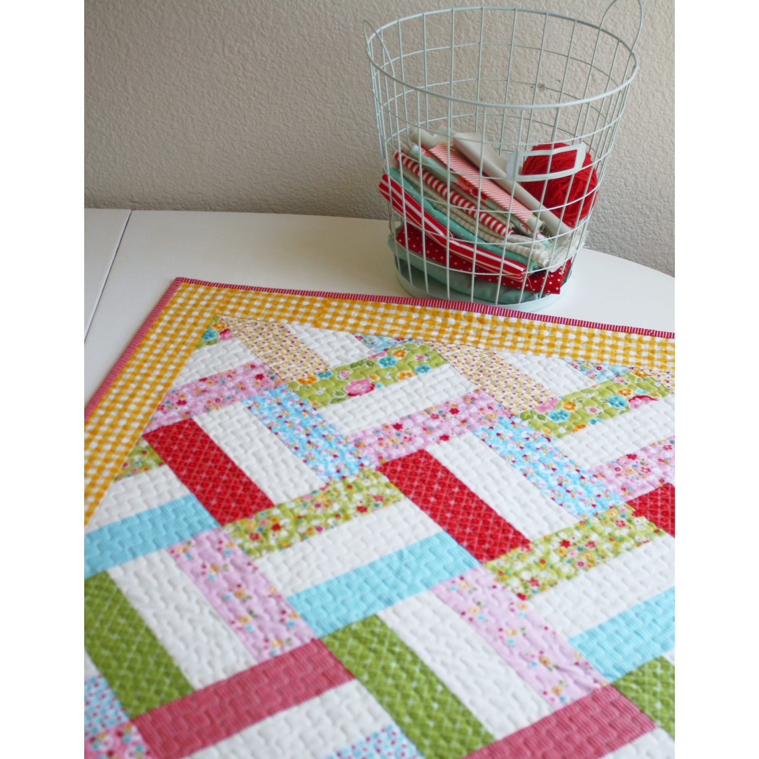 Strip Quilt Patterns For Free : Easy Strip Quilt Pattern from WoodberryWay... Quiltstory Bloglovin