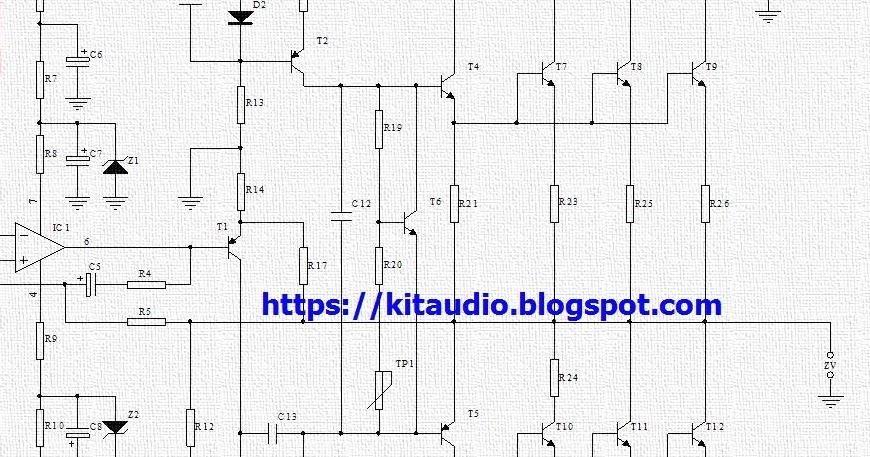 audio kit  power amplifier 250