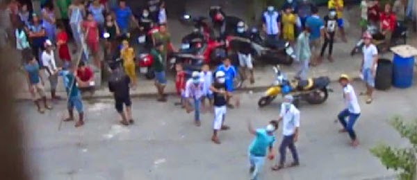 Police-hired thugs assault Mennonite Church in Bình Dương