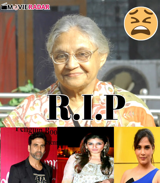 These Bollywood stars including Akshay Kumar expressed their condolences on the demise of Sheila Dixit reminded the former CM