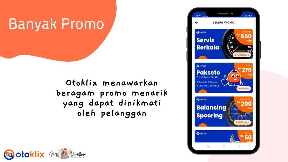 Promo Otoklix