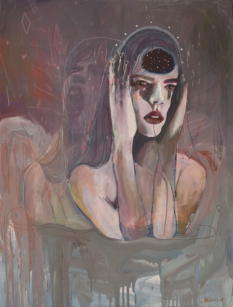 Paintings by Alexandra Levasseur from Montreal, Canada. Contemporary Art