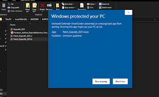 windows protected
