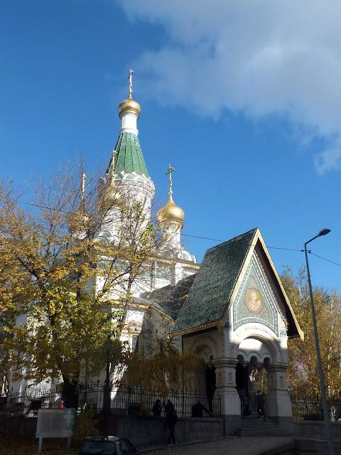 visitar iglesia rusa de la ciudad de Sofia
