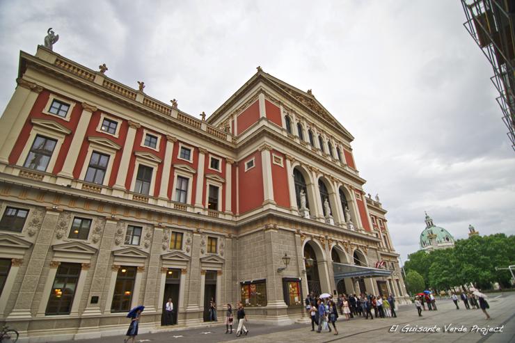 Musikverein - Viena, por El Guisante Verde Project