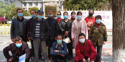 江西萍乡访民集体起诉萍乡市信访局和萍乡日报制造虚假政绩宣传