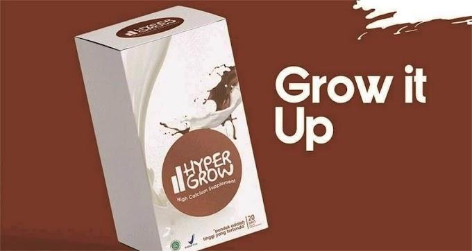 Harga Susu Suplemen Hypergrow Peninggi Badan Resmi Distributor
