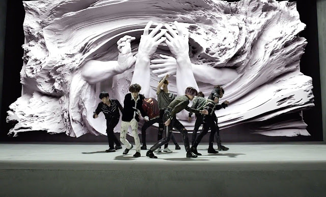 Good news, ARMYs – the extended version of BTS's Fake Love has arrived!