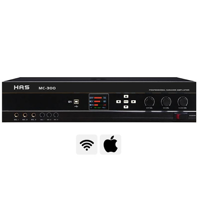 Amply karaoke số HAS MC300