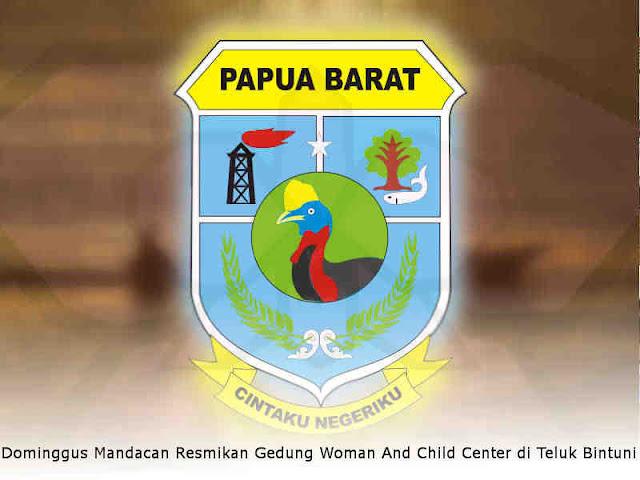 Dominggus Mandacan Resmikan Gedung Woman And Child Center di Teluk Bintuni
