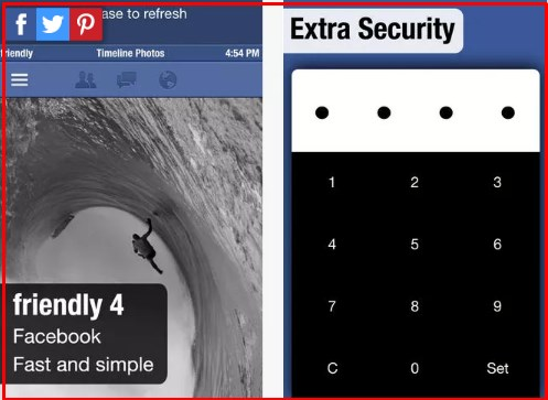 2 facebook apps on iphone