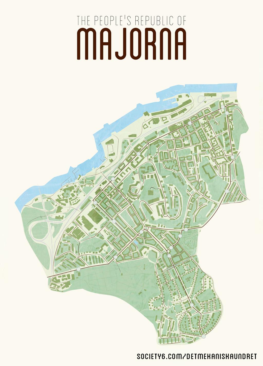 karta majorna göteborg Det mekaniska undret: The people's republic of Majorna karta majorna göteborg