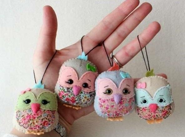 Simple Owl Keyholder