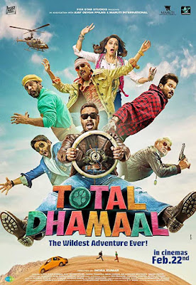 Total Dhamaal 2019 Hindi ORG 720p HDRip 1GB