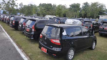 Ilustrasi kendaraan dinas