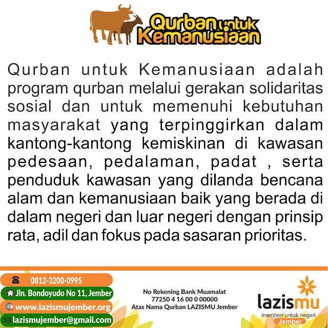 Qurban untuk Kemanusiaan di Lereng Gumitir