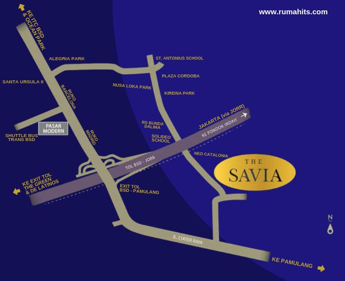 Ruko The Savia BSD City