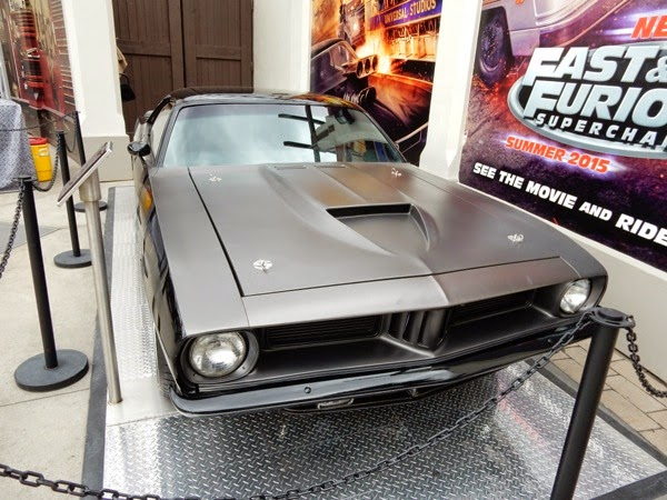 Furious 7 1971 Plymouth Barracuda