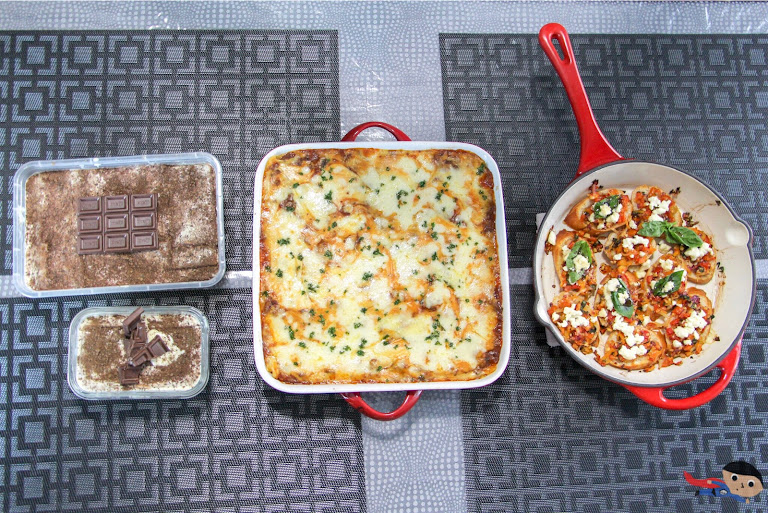 "Tiramisu, Lasagna and Bruschetta for ""What's Cooking"" Challenge"