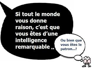 statut facebook intelligence