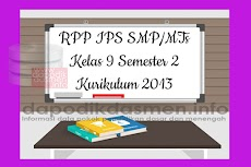 RPP IPS SMP MTs Kelas 9 Semester 2 Kurikulum 2013 Revisi Terbaru 2019-2020