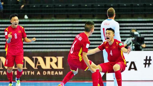 Lịch thi đấu futsal World Cup của đội tuyển Việt Nam