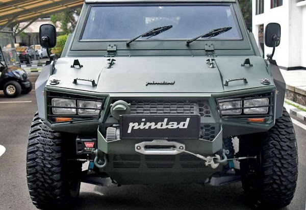 Mobil Rantis Maung Versi Sipil Mulai Dipasarkan