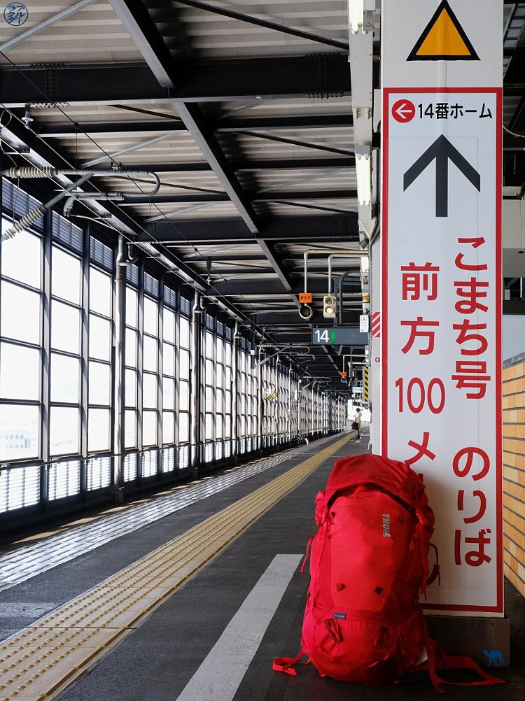 Le Chameau Bleu - Essai du sac à dos Thule Versant au Japon