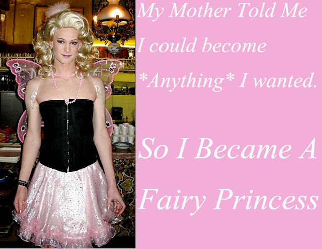 Fairy Princess Sissy TG Caption - Veronica! - Crossdressing and Sissy Tales and Captioned images