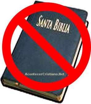 Prohibido citar pasajes de la Biblia