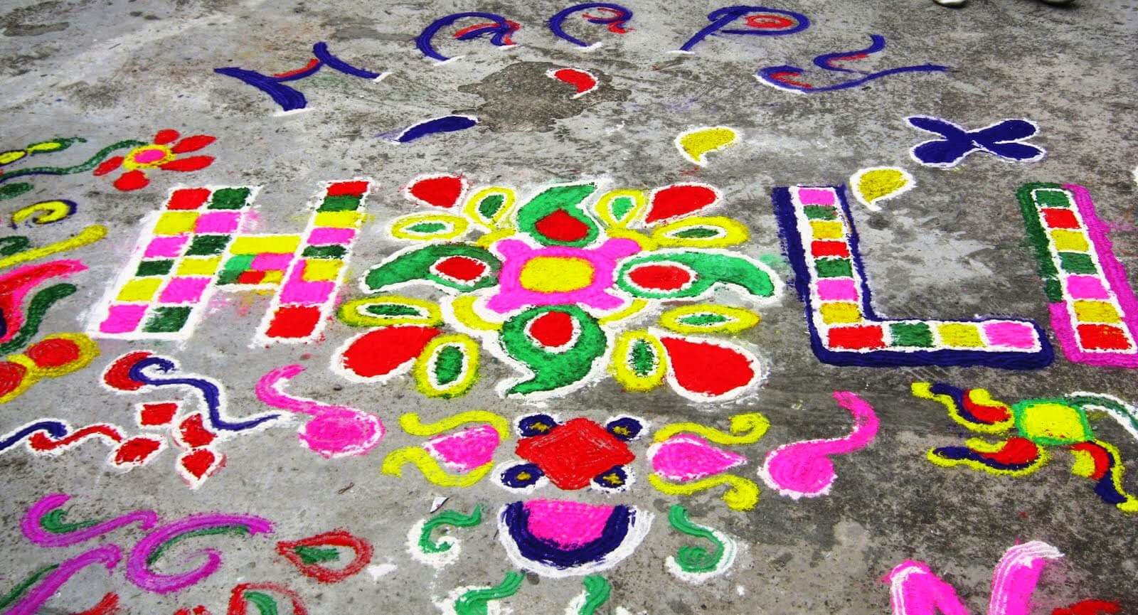 Happy Holi Decoration Ideas for Home & Office
