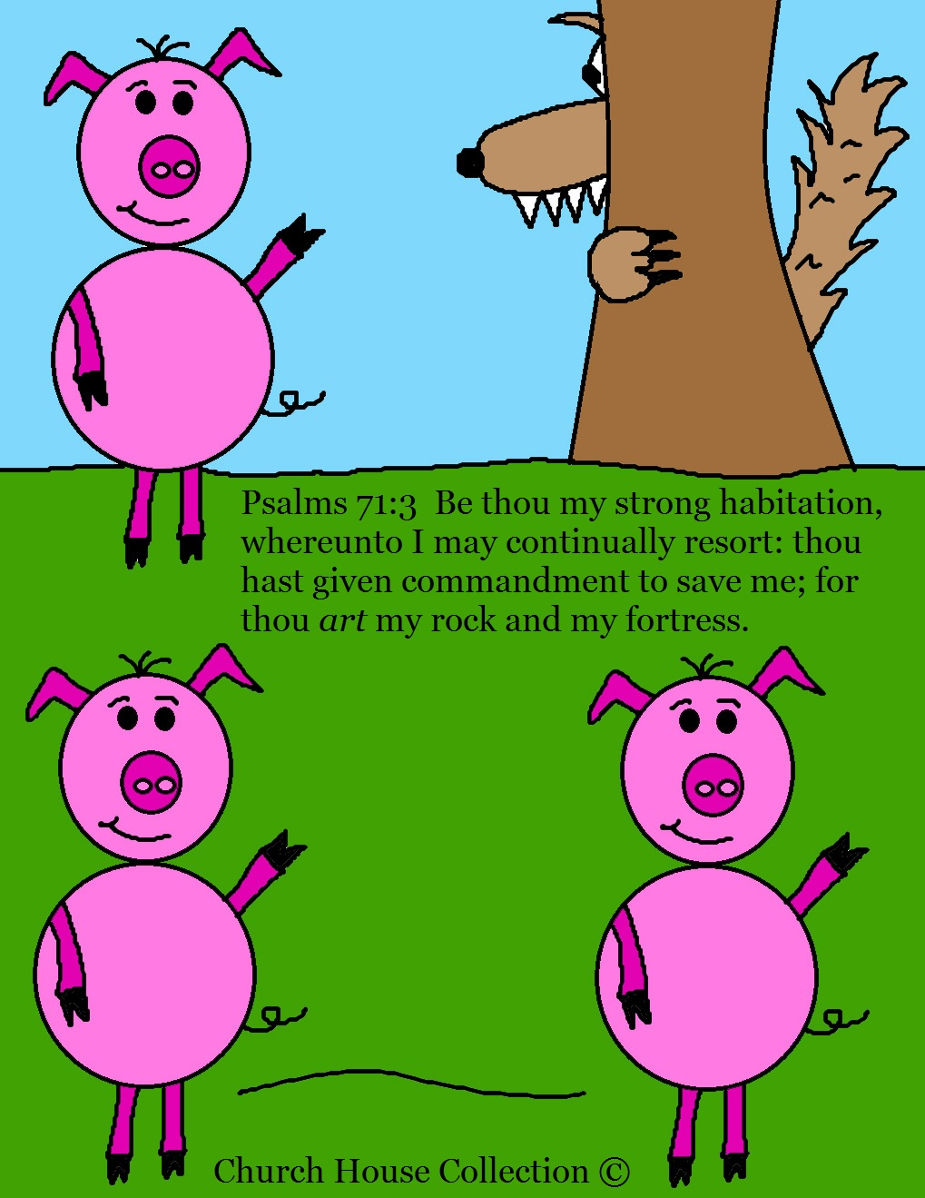 Big Bad Wolf Pigs