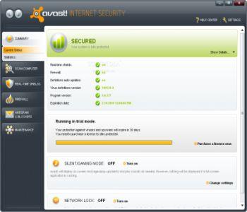 Avast! Free Antivirus 17.3.2291 Screenshot 2