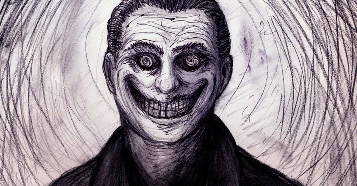 indrid cold, homem sorridente, ufo, ovni, homens de preto