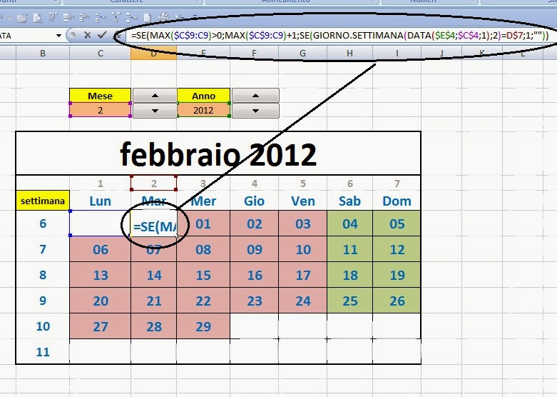 Inserire Calendario In Excel.Excel Easy Excel Facile Come Fare Un Calendario 2017
