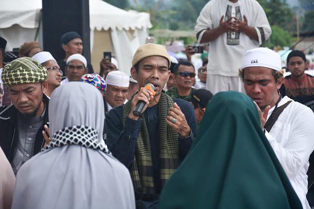 Jelang Pilpres, UAS Ajak Umat Islam 17 April Jangan Tidur Sampai Dzuhur