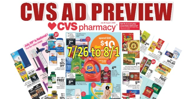 CVS Ad Scan 7-26 to 8-1