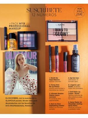 suscripcion revista glamour diciembre