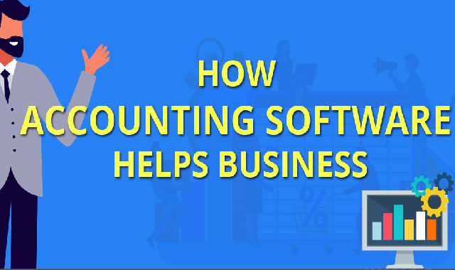 How Accounting Software Helps Business #infographic