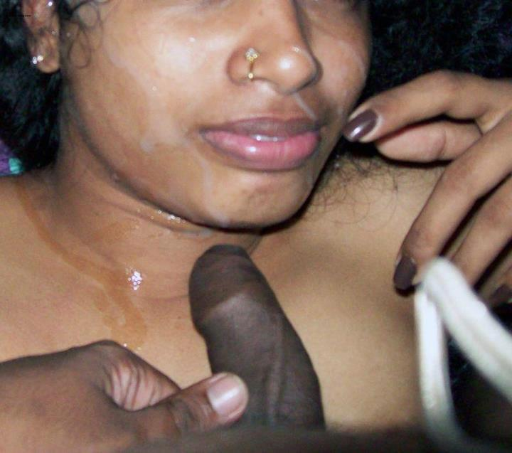tamil cum on face