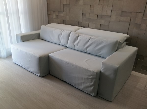 HOW TO MAKE A SOFA SLIPCOVER