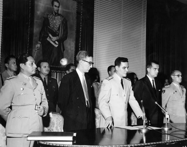 Wolfgang Larrazábal Junta de Gobierno 1958