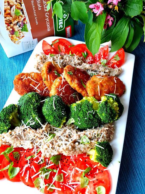 kasza gryczana biała kupiec,szybki obiad,tradycyjny obiad,z kuchni do kuchni ,top blog kulinarny,blog klunarny najlepszy,produkty kupiec,zdrowe odżywianie,fit jedzenie,