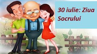30 iulie: Ziua Socrului