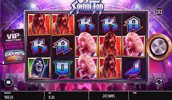 Main Gratis Slot Indonesia - Spinal Tap (Blueprint Gaming)