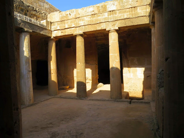Cyprus Road Trip: Tomb of the King of Paphos