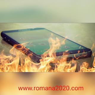 حل مشكلة سخونة الهاتف ونفاذ البطارية  سبب و حل مشكلة  ارتفاع درجة حرارة الهاتف