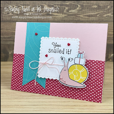 Enjoy a fun crafting mystery with this month's Mystery Stamping project featuring the Snail Mail suite!