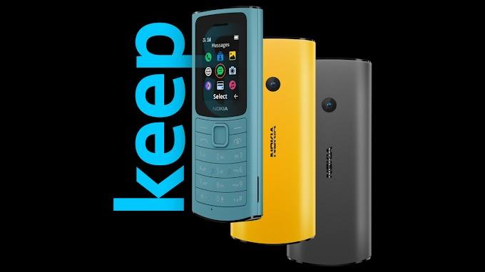 نوكيا تعود الى سوق الهواتف الكلاسيكية العادية نوكيا G110 الجديد