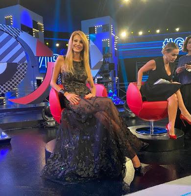 Adriana Volpe Sonia Bruganelli ascolti TV lite grande fratello vip 27 settembre